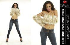 Mais de que uma calça jeans! Os novos lançamentos da People's Jeans para o inverno 2013 trazem as mais recentes tendências para o Denim com uma modelagem perfeita para o seu corpo. Confira uma das peças femininas exclusivas da People's Jeans!