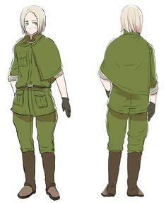 Found some uniform designs for Feliks on Hima's blog. Thought this was pretty interesting~