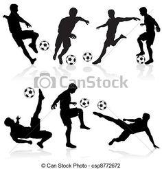 jogador de futebol desenhos - Pesquisa Google