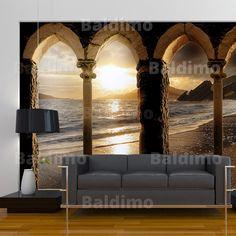 WALLPAPER XXL NON-WOVEN HUGE PHOTO WALL MURAL ART PRINT ARCHITECTURE 10110904-28 | eBay