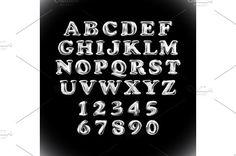silver balloon alphabet vector  by Rommeo79 on @creativemarket