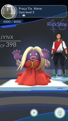 Novamente nesse Gym!  #PokemonGO
