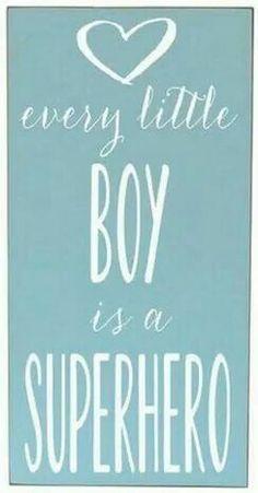 Every Little Boy is a Superhero!