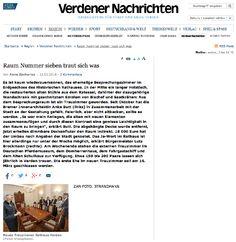 Pressebericht über die Fertigstellung des neuen Trauzimmers in der Stadt Verden/Aller