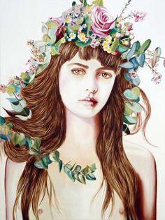 Save the date - paintings by Anna Borowy next exhibition: Le Lavoir Vasserot 1 Rue Joseph Quaranta, Saint-Tropez August 9th - 21st 2014