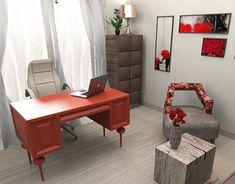 New Work, Office Desk, My Design, Behance, Gallery, Check, Furniture, Home Decor, Desk Office