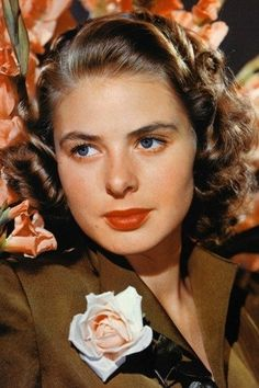 What do people think of Ingrid Bergman? See opinions and rankings about Ingrid Bergman across various lists and topics. Swedish Actresses, Classic Actresses, Hollywood Actresses, Beautiful Actresses, Actors & Actresses, Hollywood Icons, Isabella Rossellini, Roberto Rossellini, Classic Hollywood