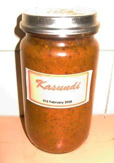 tomato Kasundi. Recipe Favorite spicy Indian condiment Rosalindentree.com