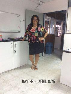 Day 42 - #ClosetChallenge - Y todavía encuentro ropa!  Esta blusa la compré en Aviraté, Colombo.
