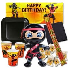 Check out the Ninja Birthday Party Pack at www.karatemart.com