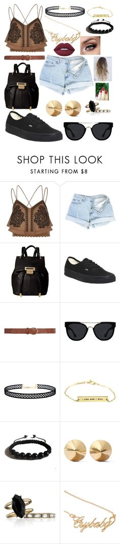 """""""Untitled # I don't remember"""" by kaitlyncliffxrd ❤ liked on Polyvore featuring River Island, Ivanka Trump, Vans, Dorothy Perkins, Quay, LULUS, Shamballa Jewels, Eddie Borgo, Chloe + Isabel and Hot Topic"""