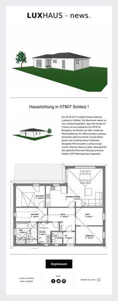 Und wieder ein neues Luxhaus in Schleiz Thüringen !