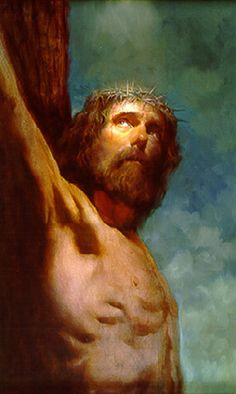 The Crucifixion by Morgan Weistling