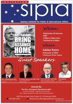 2020 Feb 26: SYDNEY, AU event Chelsea Manning, Guest Speakers, Affair, Sydney, Street