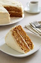 Carrot Cake with Cream Cheese Icing... the perfect Easter dessert!