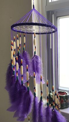 Diy Crafts For Home Decor, Diy Crafts Hacks, Diy Crafts For Gifts, Diy Arts And Crafts, Creative Crafts, Dream Catcher Patterns, Dream Catcher Decor, Diy Dream Catcher For Kids, Homemade Dream Catchers