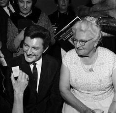 Liberace - With Mother