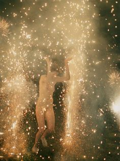 """Fourth of July!Ryan McGinley's image """"Hysteric Fireworks"""" is from… Larry Clark, Naive, Sigur Ros, The Desire Map, A Little Life, William Blake, Art Graphique, Illustrations, Ethereal"""