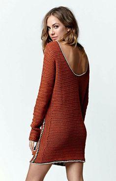 ergahandmade: Crochet Dress + Diagram