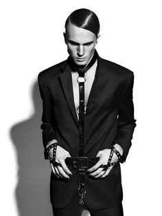 And Men Magazine by david benoliel, via Behance. suit harness. Gratefully repinned by RokStarroad.com