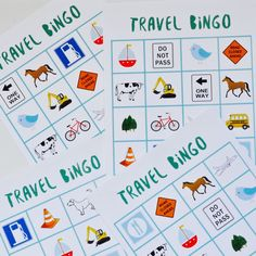Print this FREE Printable Travel Bingo Game to keep your kids busy on your next family vacation! Kids will love finding the objects on the cards.