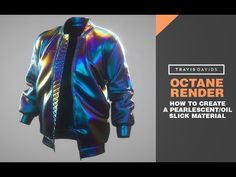 Octane Render - How To Create A Pearlescent or Oil Slick Material - YouTube