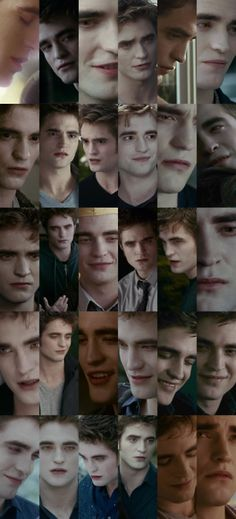 The many faces of Edward <3. And all are gorgeous:)