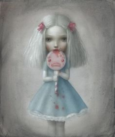 Nicoletta Ceccoli - Illustration - Beautiful Nightmare