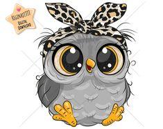 Owl Cartoon, Cute Cartoon Animals, Owl Png, Cute Owl, Free Illustrations, Nursery Prints, Mammals, Vector Free, Adobe
