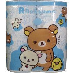 Rilakkuma toilet paper