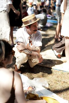 governors island, new york city, jazz-age lawn party, july sartorialist Gatsby, Jazz Age Lawn Party, 1920s Jazz, Types Of Beards, Arm Tats, My Sun And Stars, Beard No Mustache, Moustache, Sartorialist
