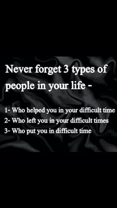 Remember these people it is important too.