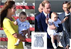 "The Duchess of Cambridge is not the only royal who who can sell out clothes! Much like his mum, Prince George is already proving to be something of a trendsetter with his choice of outfits. Designers of the clothes he has worn on his first royal tour are reporting a huge surge in sales thanks to ""The George Effect."" On Wednesday the tiny trendsetter struck again as the Annafie romper he wore for his arrival in Sydney totally sold out, with a negative stock in all sizes"