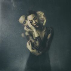 """The last one of the year! Here's to a 2017 full of health, ART, love and peace! ❤❤❤ ✌   """"Stab the body and it heals, but injure the heart and the wound lasts a lifetime.""""  ― Mineko Iwasaki  Josephine Cardin Photography  Portraits emotional studio mixed emotions self portrait"""