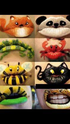 Crazy lip ideas