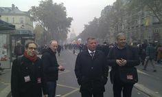 Zum europäischen Aktionstag wird auch in Paris demonstriert. DIE LINKE ist dabei.