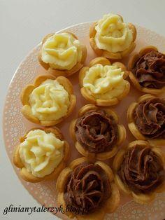 tartaletki z czekoladowymi kremami