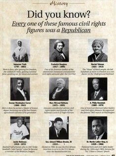 history facts If you are interested in the Civil Rights Movement (and who isnt?), take a look at this ad from The Black Republican, a magazine which was distributed at the Conservative P Civil Rights Figures, Civil Rights Movement, Black History Facts, Black History Month, Black History People, Black Republicans, African American History, Black Power, World History