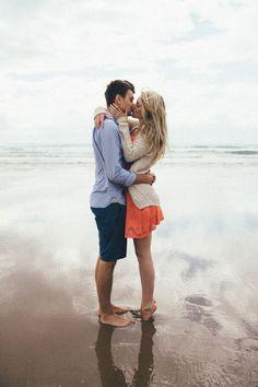 Atmospheric Beach Engagement Shoot | Toby Mitchell Design | Bridal Musings Wedding Blog