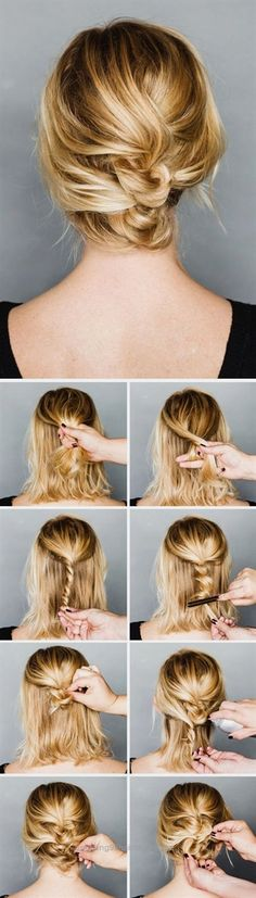 Splendid DIY Hairstyle // Easy to follow step by step hair updo tutorial. The post DIY Hairstyle // Easy to follow step by step hair updo tutorial…. appeared first on Amazing Hairstyles .