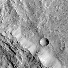 3 miles in diameter, the small crater seen here is a newly named feature on dwarf planet Ceres. Meet Axomama Crater: http://go.nasa.gov/2g6700j