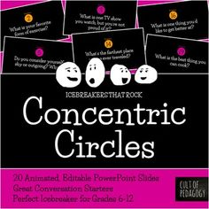 Concentric Circles: An Icebreaker that Rocks!
