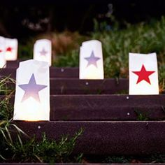How to make these easy star lanterns
