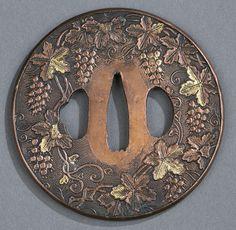 Shibuchi & iron Tsuba - by Quinn's Auction Galleries
