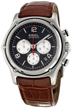 Ebel 1911 XXL Automatic Chronograph Mens watch, model number - 9137260/25535134, discount price of £3,200.00 from The Watch Source http://www.thesterlingsilver.com/product/roamer-ares-mens-quartz-watc