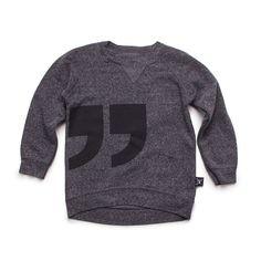 nununu quotation pullover | mini model gallery