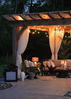 Planning to brighten up your backyard? Look at these decor ideas to remodel backyard with outdoor lights. Solar Deck Lights, Outdoor Ceiling Lights, Outdoor Lighting, Outdoor Areas, Outdoor Dining, Outdoor Decor, Kitchen Lighting Fixtures, Light Fixtures, Outdoor Retreat