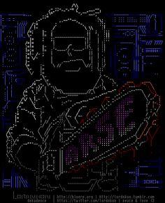 Thats how i'm painting #ASCII / #ANSI