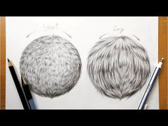 Drawing tutorial - How to draw realistic fur in graphite|Leontine van vliet - YouTube