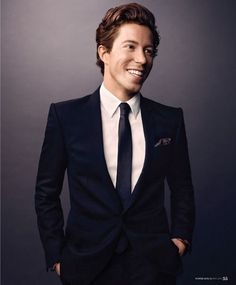 Shaun White- I've always thought he was a good looking guy.... something about that red hair...